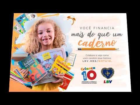 Sem Educação não há futuro! LBV apoia famílias para que crianças, adolescentes e jovens sejam motivados a frequentar a escola