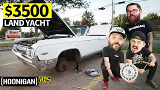"What Did We Buy!? Our $3500 ""Luxury"" Barge for Woodward Dream Cruise 2019"