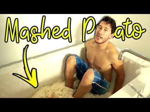 Mashed Potato Bath Tub