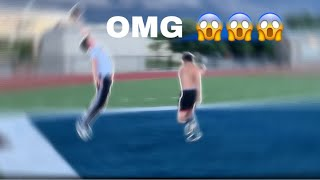 Did he really just do that😳😳 | Football 1ON's1 |