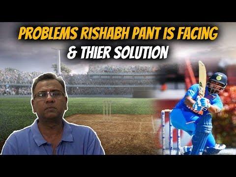 Problems Rishabh Pant is Facing & Thier Solution | Basit Ali