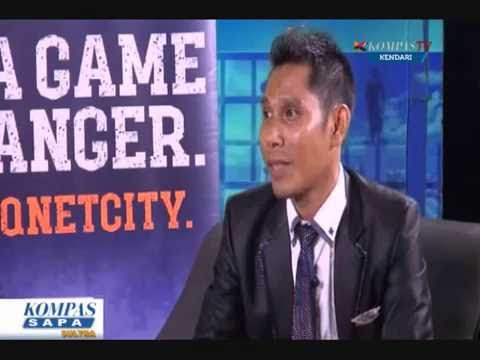 Dialog Interaktif QNET di Kompas TV Kendari
