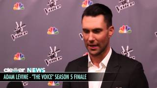 Adam Levine Calls Christina Aguilera & Lady Gaga  Badass ! The Voice Finale Interview