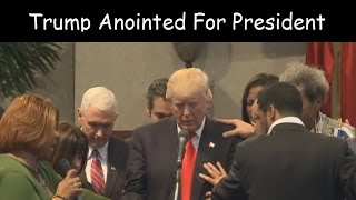 September 2016 - Donald Trump Gets Anointed For President