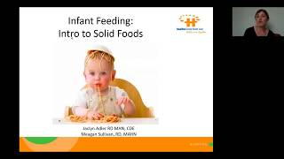Infant Feeding: Introduction to Solids 4-6 Months