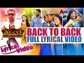 Chakravarthy | Darshan | Deepa Sannidhi | Back To Back Full Lyrical Video Songs 2017 | Arjun Janya