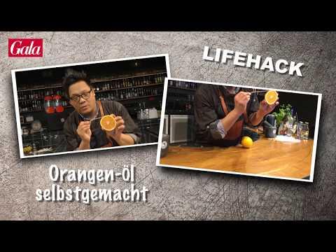 Süßes Orangenöl selber machen - Lifehack mit Gala.de