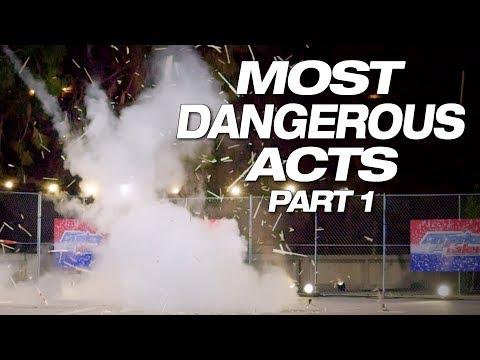 Danger! Explosive! Insane! These Talents Make You Nervous - America's Got Talent 2018 (видео)