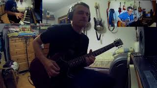 Return To Ommadawn, Mike Oldfield,  Min 6 Short Cover With Three Instruments