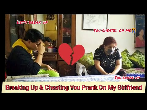 Breaking Up & Cheating You Prank On My Girlfriend with My Mom *She left us*