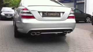TC Concepts S500 W221 Sportauspuff Hammer Sound Exhaustsystem TC-Concepts
