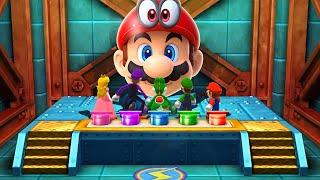 Mario Party The Top 100 MiniGames - Mario Vs Luigi Vs Yoshi Vs Peach (Master Cpu)