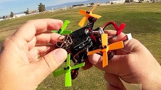 Eachine Aurora 100 Brushless Micro FPV Racer Drone Flight Test Review