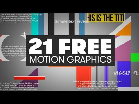 Free Title Templates Presets 5 Pack For Premiere Pro Cavus Media