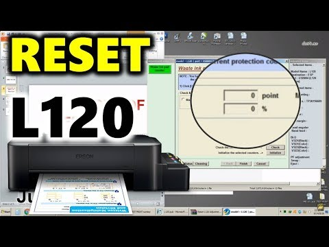Epson L120 Resetter Program - Download Here!!! - смотреть