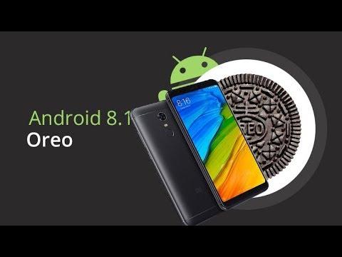 Android Oreo 8.1 и MIUI 10.1.3 GLOBAL на смартфоне Xiaomi Redmi 5. MIUI 10.1.1.0 China