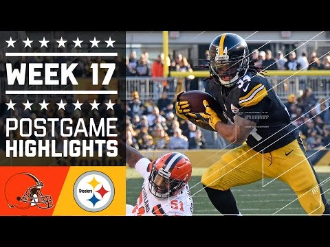 Browns vs. Steelers   NFL Week 17 Game Highlights