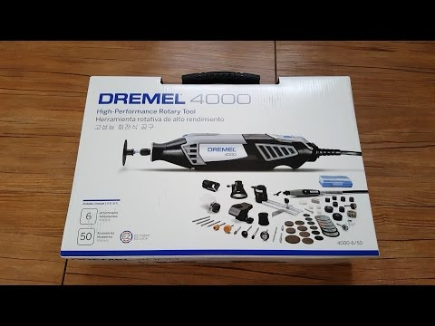 드레멜 4000 6/50 개봉기 – Dremel 4000 6/50 Unboxing Review