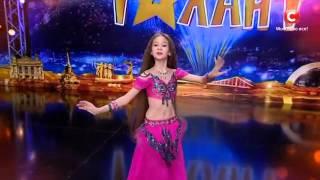 """Маргарита Литвиненко  -  восточный танец """"Україна має талант-8"""".Діти [09.04.2016]"""