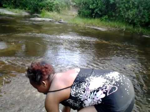 Adulterous woman strip dances for a married man.