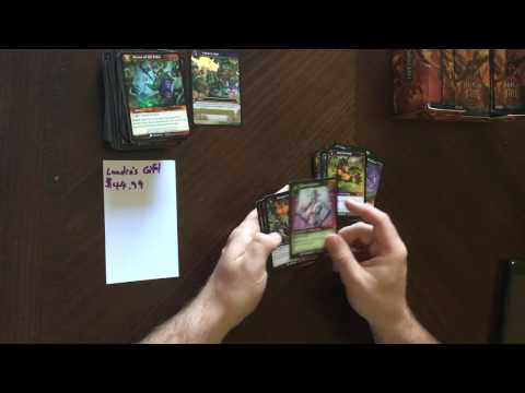 Warcraft TCG: Reign of Fire tragic unboxing