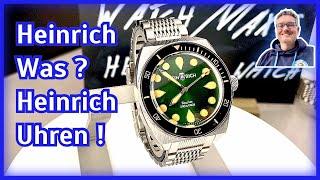 Heinrich Was? Heinrich Uhren - Eine neue Marke aus Deutschland