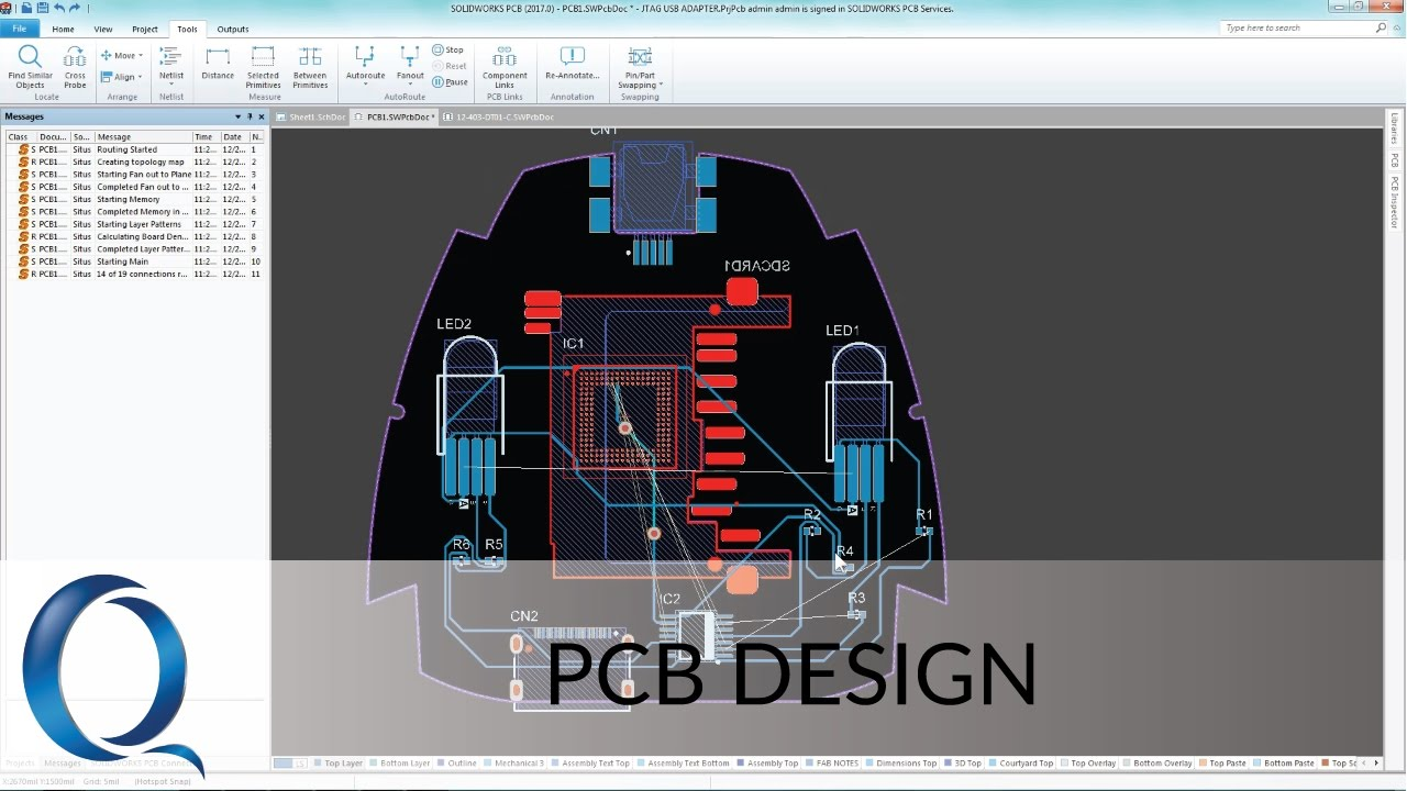 PCB Design with SOLIDWORKS
