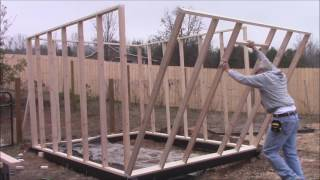 How To Build A Greenhouse! DIY~ Framing