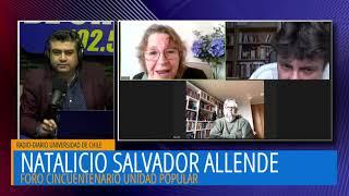 Foro Cincuentenario Unidad Popular – Natalicio Salvador Allende.