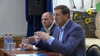 Глава округа Александр Сергиенко встретился с жителями села Дмитриевка