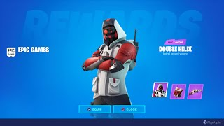 How To Get Exclusive Double Helix Skin   In Fortnite! New Fortnite Exclusive Double Helix Bundle