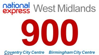 National Express West Midlands: Route #900 (Coventry - Birmingham) [Part 2/4]