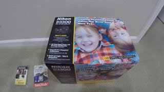 Unboxing Nikon D3300 Kit Video Review