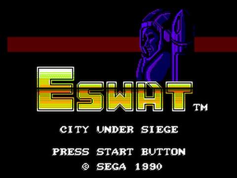Master System Longplay [153] E-SWAT: City Under Siege