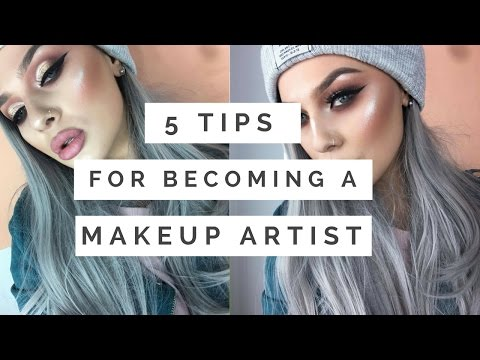 HOW TO | BECOME A MAKEUP ARTIST | MY 5 TOP TIPS Rachel Ferran