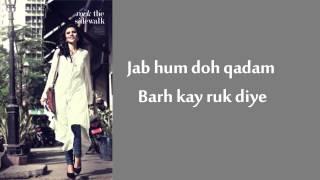 Tanhaiyan Naye Silsilay Lyrics - Zoe Viccaji - YouTube