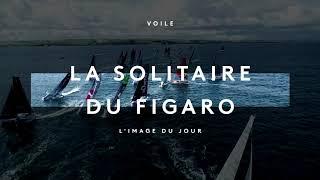 Solitaire du Figaro, départ de l'étape 3