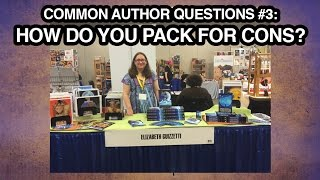 Common Author Questions: How Do You Pack for Cons?