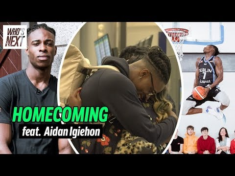 The Irish Hulk Left Home 5 Years Ago To Pursue His NBA DREAMS! Aidan Igiehon Returns To Ireland!