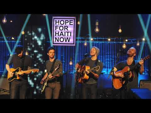 Coldplay - A Message (Live at Hope For Haiti)