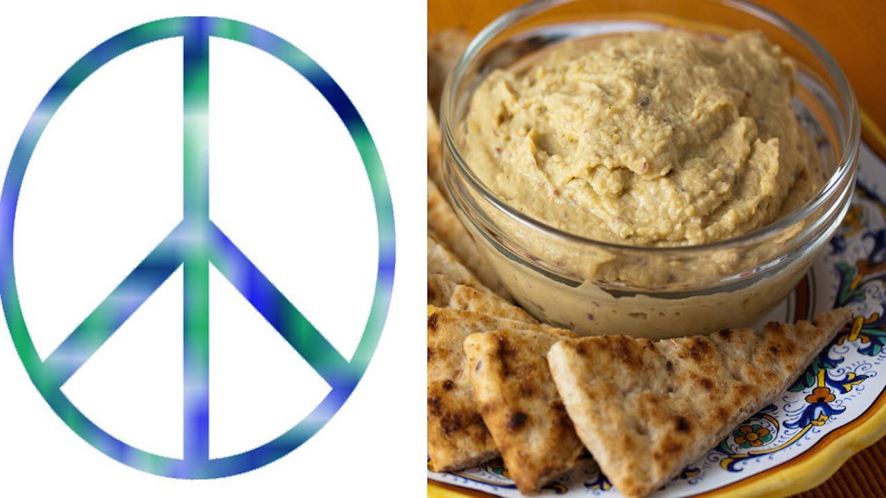 Israeli Cafe Thinks Key To Peace Is Hummus thumbnail