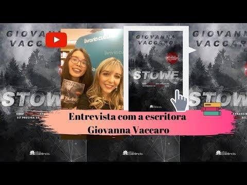 Entrevista com a escritora Giovanna Vaccaro | Kemiroxtv