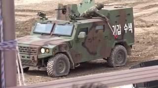 160910 DX KOREA 2016 K-15X 소형전술차량 식구들