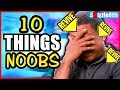 10 THINGS NOOBS DO IN ZOMBIES - ARE YOU A NOOB? #4 (10 Mistakes Call of ...