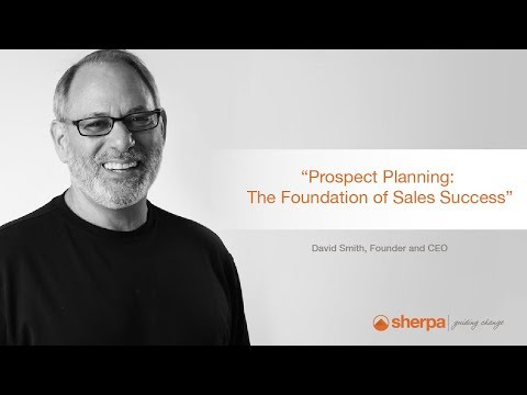 David's Sales Tips: Blog Prospect Planning–The Foundation of Sales Success