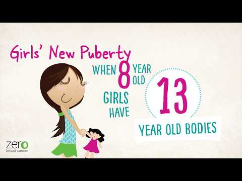 Girls' New Puberty YouTube Video