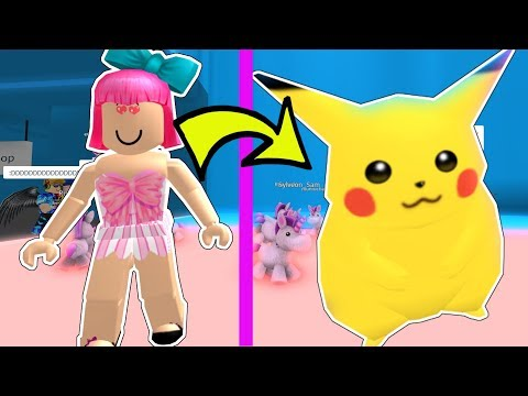 Roblox: I'M PIKACHU!!! - WOULD YOU RATHER CHALLENGE!