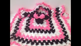 How To Crochet A Minnie/ Mickey Mouse Lovey Part 1 Of 2