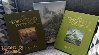 Alan Lee - The Hobbit & Lord Of The Rings Sketchbooks (Deluxe)