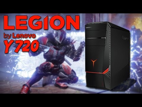 Lenovo Legion Y720 Tower Unboxing / Breakdown! | Destiny 2 Gameplay On Highest Settings!